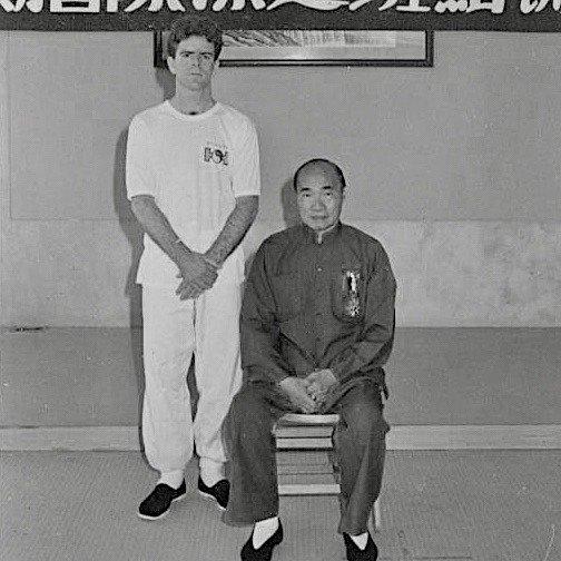 Tony Ward and Huang Shen Shyang